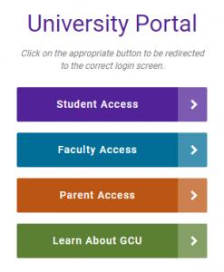 GCU Portal Login