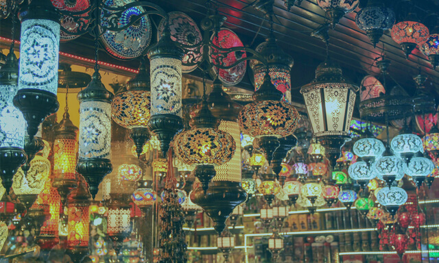 Traditional Lantern and Lamps