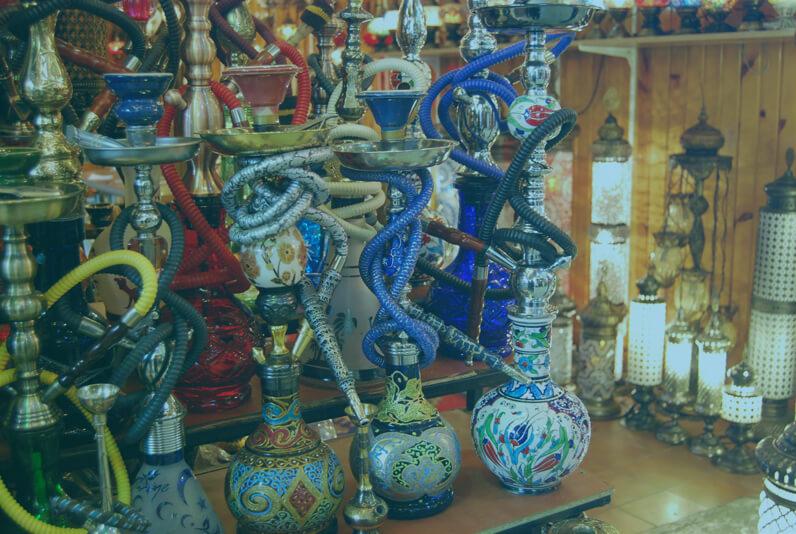 Turkish Hookah Sheesha and Nargile Pipes