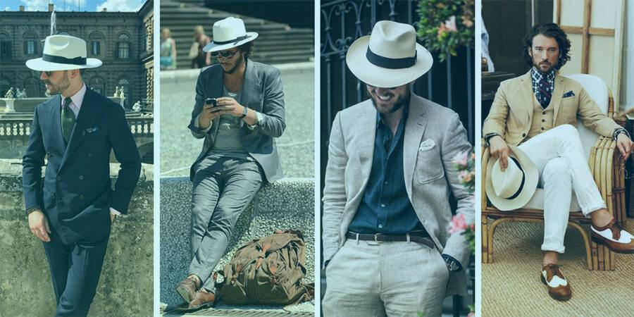 Italian Borsalino Hats